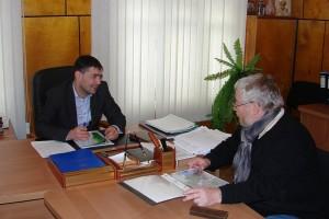 встреча с главой администрации пос. Вознесенье